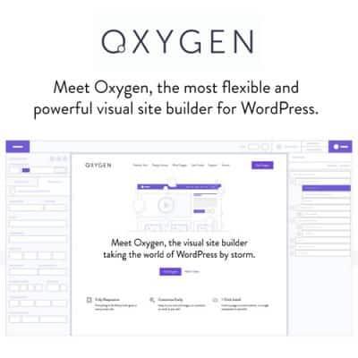 Oxygen The Ultimate Visual Website Builder