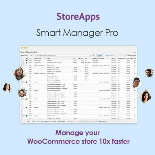 Woocommerce Smart Manager Pro
