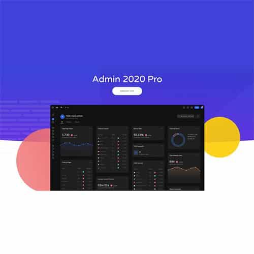 Admin 2020 Pro WordPress Dashboard Theme