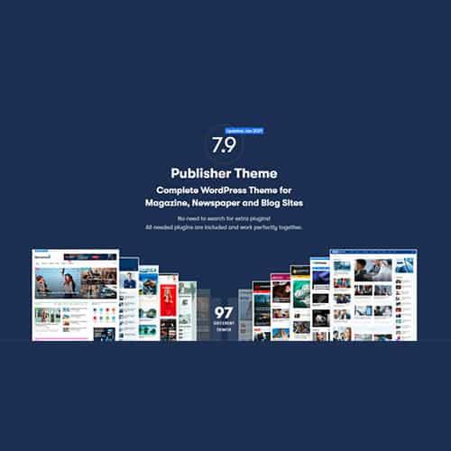 Publisher Pro Newspaper and Magazine WordPress Theme