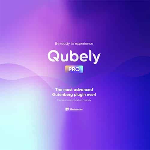 Qubely Pro The Ultimate WordPress Gutenberg Plugin