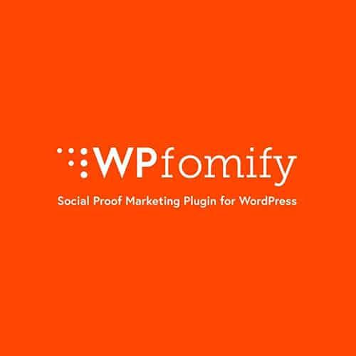 WPfomify Social Proof and Fomo Marketing Plugin