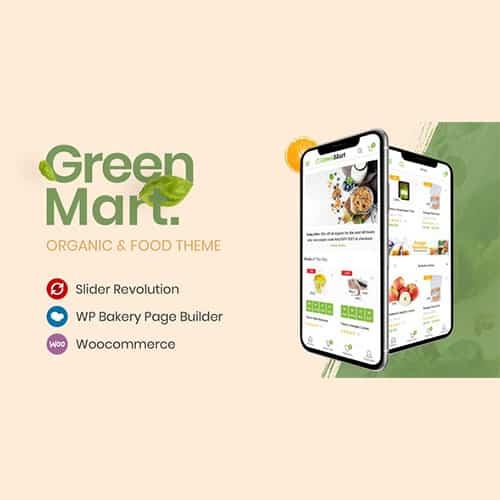 GreenMart Organic and Food WooCommerce Theme