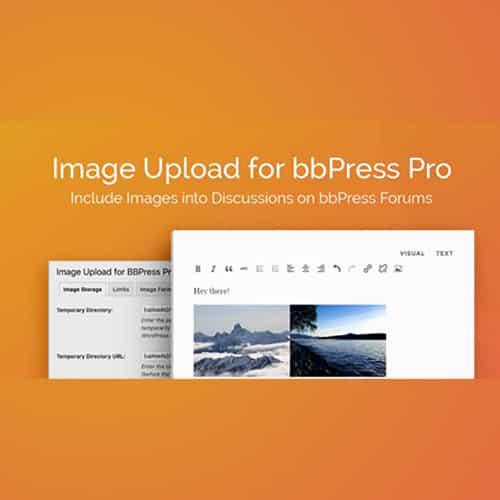 Image Upload for bbPress Pro