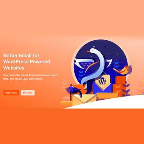 Mailpoet Premium Better Email WordPress Plugin