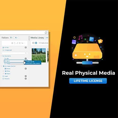 WordPress Real Physical Media Libary