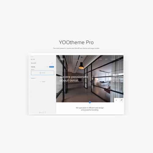 YOOtheme Pro WordPress Theme and Page Builder