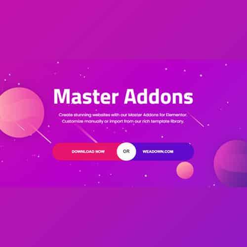 Master Addons for Elementor Pro