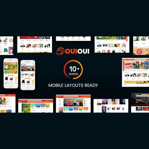 OuiOui Multi Vendor MarketPlace Elementor WooCommerce Theme