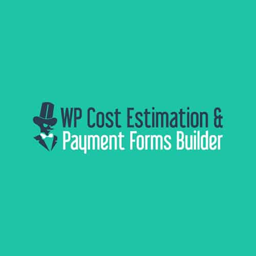 WP Cost Estimation and Payment Forms Builder