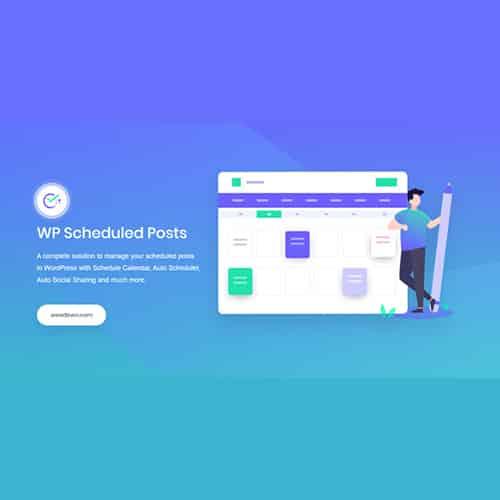WP Scheduled Posts Pro WordPress Plugin
